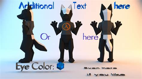 3D Reference Sheet