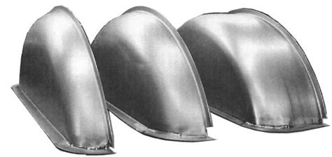 """1948-56 Ford F-100 Wheel Tubs, Steel, Stamped Curve, 2 3/4"""""""