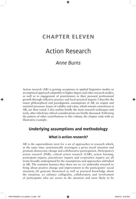(PDF) Action research