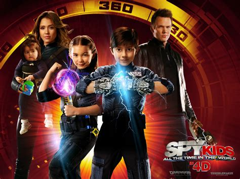 My Free Wallpapers - Movies Wallpaper : Spy Kids 4 - All