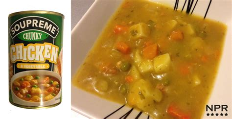 Aldi Chunky Chicken Soup Review   New Product Reviews