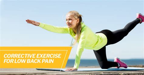Corrective Exercise for Low Back Pain | ISSA