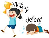 Victory Vs Defeat Two Way Street Road Signs Win Or Lose