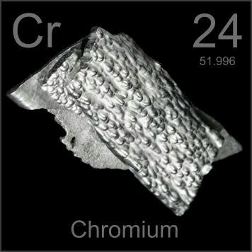 Pictures, stories, and facts about the element Chromium in