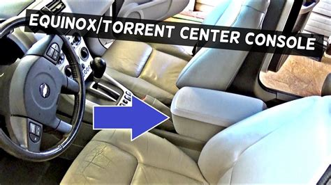 How to Remove the Center Console on CHEVROLET EQUINOX or