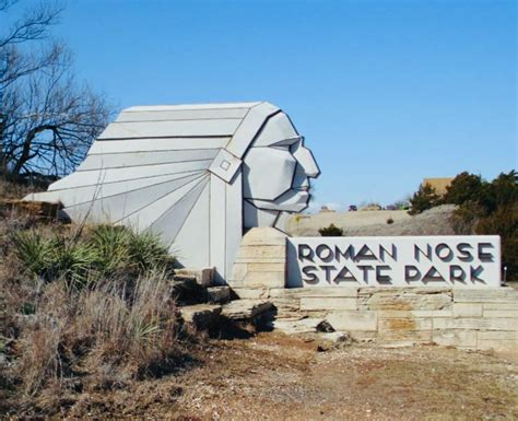 Roman Nose State Park · The Enchanted Gypsy