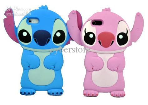 Wholesale Cell Phone Cases - Buy Cute Boy Girl 3D Stitch