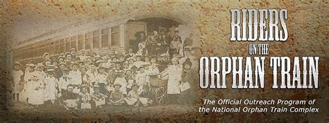 """""""Riders on the Orphan Train"""" in Heritage Hall 