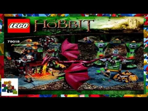LEGO Hobbit Smaug & The Lonely Mountain review! 79018