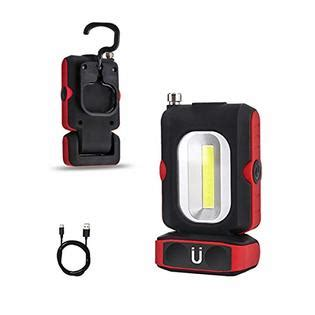 HEDELE Portable LED Rechargeable Work Light Multi-use COB