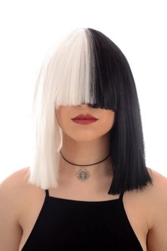 SIA Black/White Wig: BACK IN STOCK - Celeb Wigs | Hair By