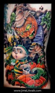 New School Tattoo Meaning Ideas, & Designs   Pinup