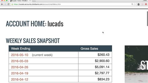 How I Make $3 - 5,000 A Week With Clickbank - REAL PROOF