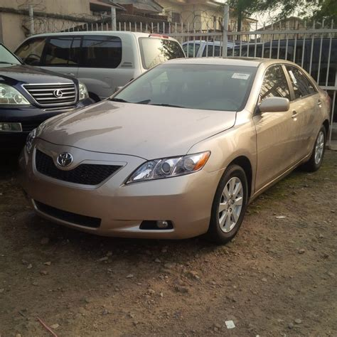 SOLD! Gold Toyota Camry i4 XLE Muscle 2008 - Autos - Nigeria