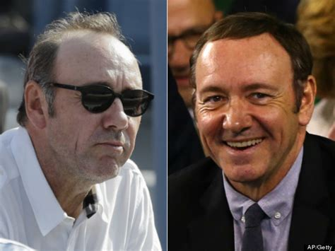 Kevin Spacey's New Hair Makes An Appearance At Australian