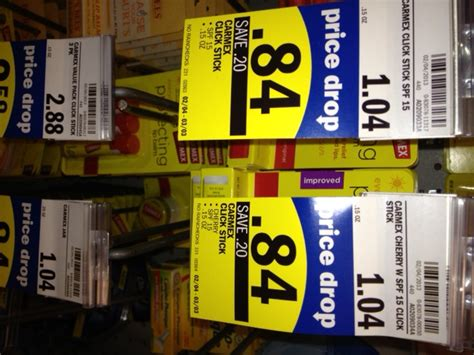 New $1/2 Carmex Lip Balm Coupon + Meijer and Walmart Deals!