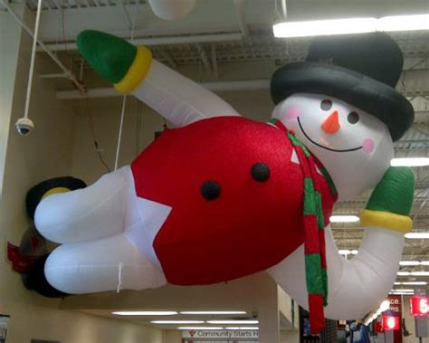 Yolloy snowman decorations huge inflatables for sale