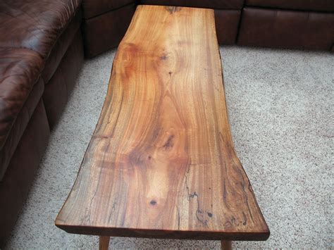Slab Coffee Table - Solid Avocado Wood - a photo on Flickriver