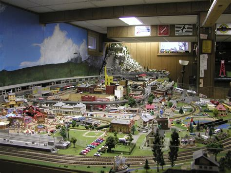 N-Scale Model Train Layout | The layout includes a