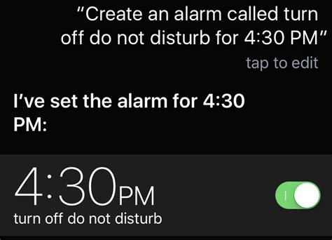 Have Siri Alert You to Disable Do Not Disturb | mac-fusion