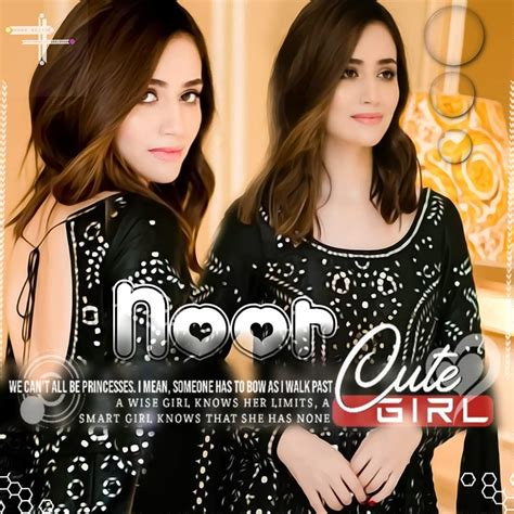 Noor Name Stylish Dpz And Wallpaper