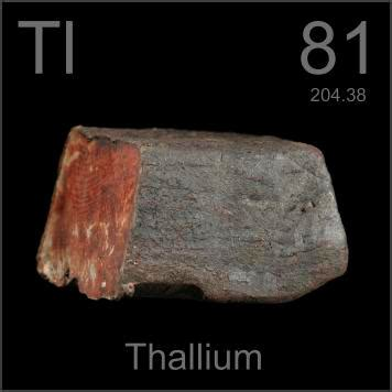 Pictures, stories, and facts about the element Thallium in