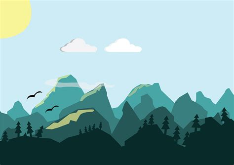 Mountains Hills Vector · Free image on Pixabay