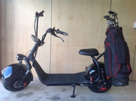 VENTURE HARLEY STYLE ELECTRIC GOLF SCOOTER 1 x 20ahr