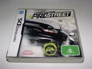 Need for Speed Prostreet Nintendo DS 2DS 3DS Game