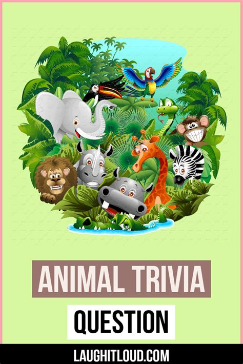 105+ Animal Trivia Questions With Answers | Laughitloud