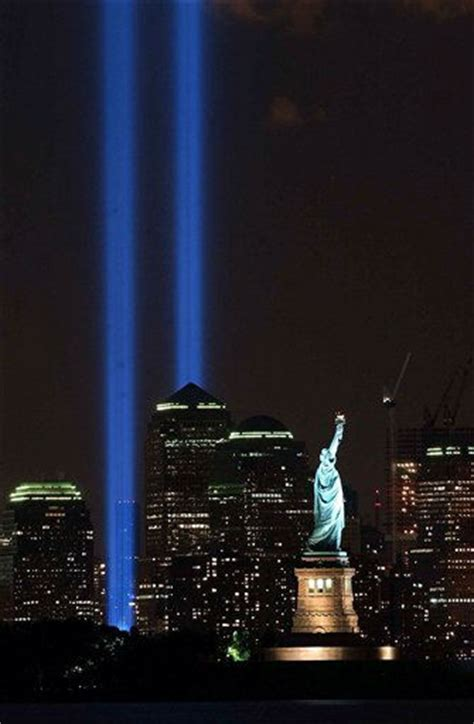 Tribute in Light shines in honor of September 11th victims