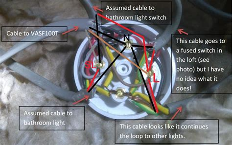 Wiring confusion at junction box - Vent Axia VASF100T