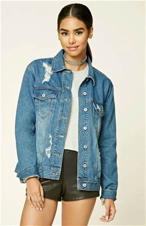 Fall denim jackets: Distressed, patches, oversized and