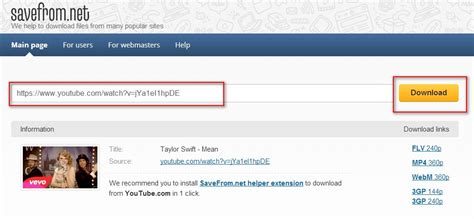 How to Download/Convert/Import YouTube (FLV) Videos to