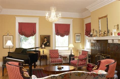 Where to Hang Drapes in a Window With Wide Molding   Home