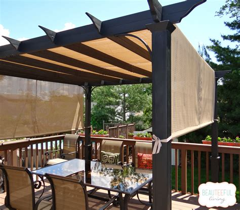 Our New Pergola - Shade at Last - BEAUTEEFUL Living